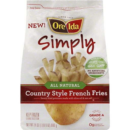 Ore-Ida French Fries, Simply Country
