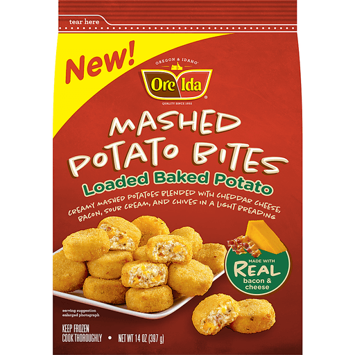 Ore Ida Mashed Potato Bites Loaded Baked Potato