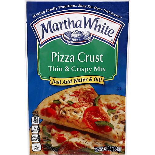 Martha White Pizza Crust, Thin & Crispy Mix