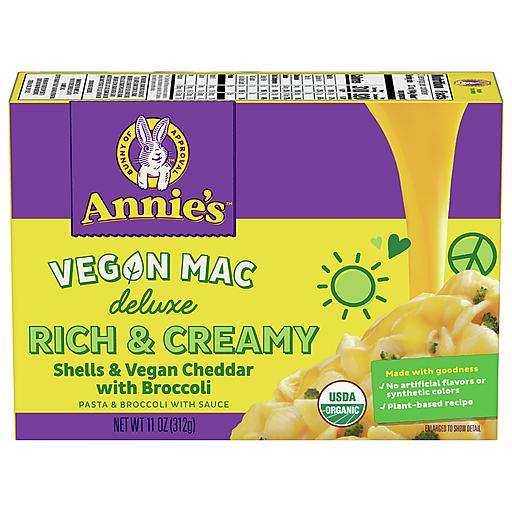 Annies Org Shells Cheese - Broccoli