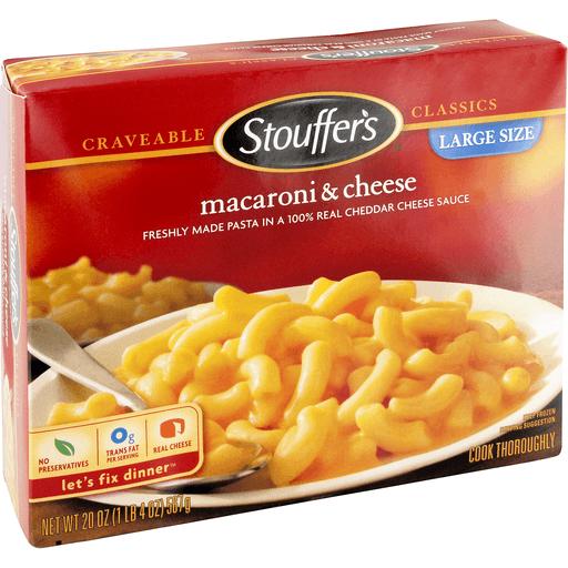 Stouffers Satisfying Servings Macaroni & Cheese