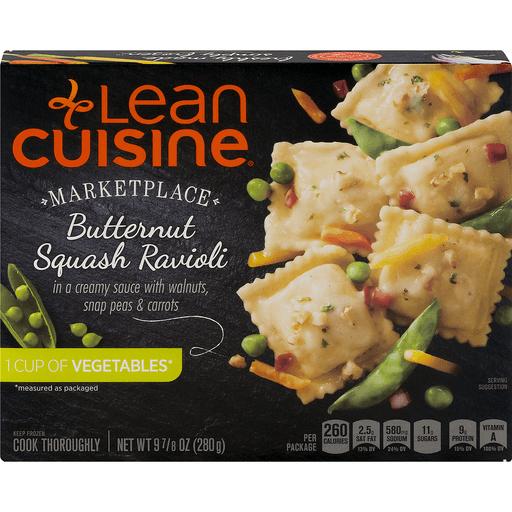 Lean Cuisine Marketplace Butternut Squash Ravioli