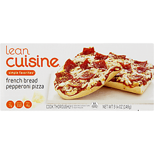 Lean Cuisine Favorites Pizza, French Bread, Pepperoni