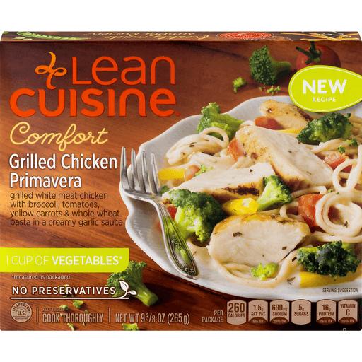 Lean Cuisine Comfort Grilled Chicken Primavera