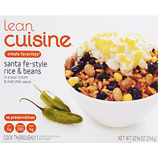 Lean Cuisine Favorites Santa Fe-Style Rice & Beans