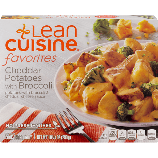 Lean Cuisine Simple Favorites Cheddar Potatoes with Broccoli