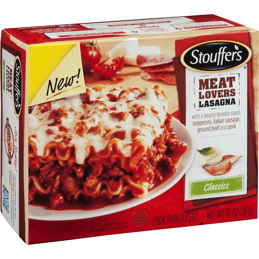Stouffers Classics Lasagna, Meat Lovers
