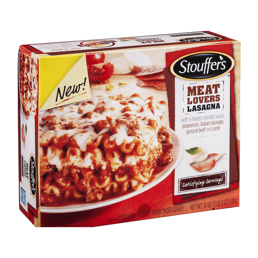 Stouffers Satisfying Servings Lasagna, Meat Lovers