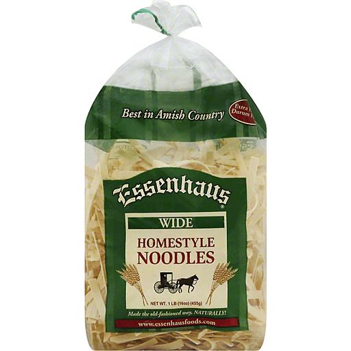 Essenhaus Noodles, Homestyle, Wide