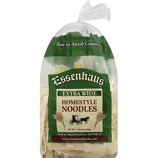 Essenhaus Noodles, Homestyle, Extra Wide