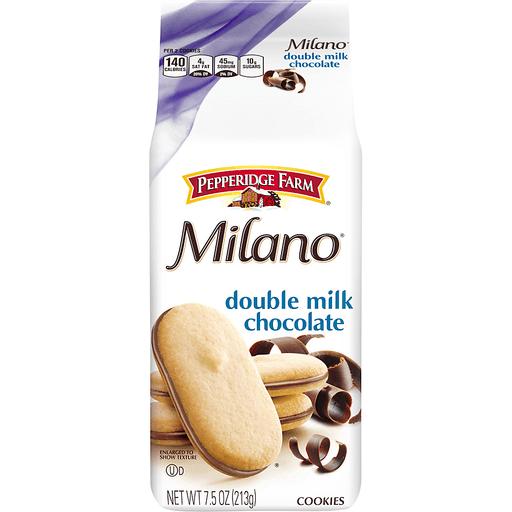 Pepperidge Farm Milano Cookies, Double Milk Chocolate
