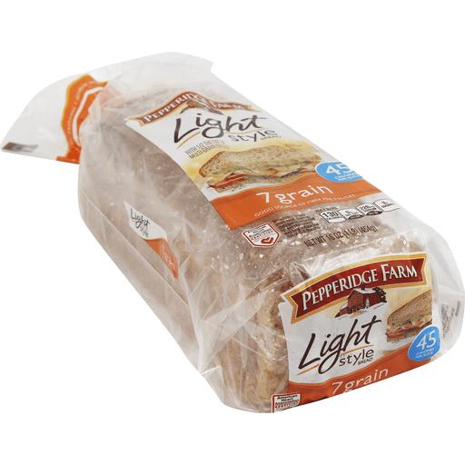 Pepperidge Farm Light Style Bread 7 Grain Multi Grain Whole Wheat Bread Price Cutter