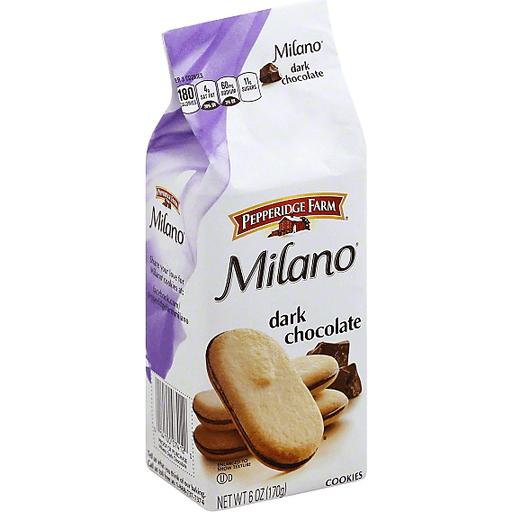Pepperidge Farm Milano Cookies Dark Chocolate Chocolate Chocolate Chip Market Basket