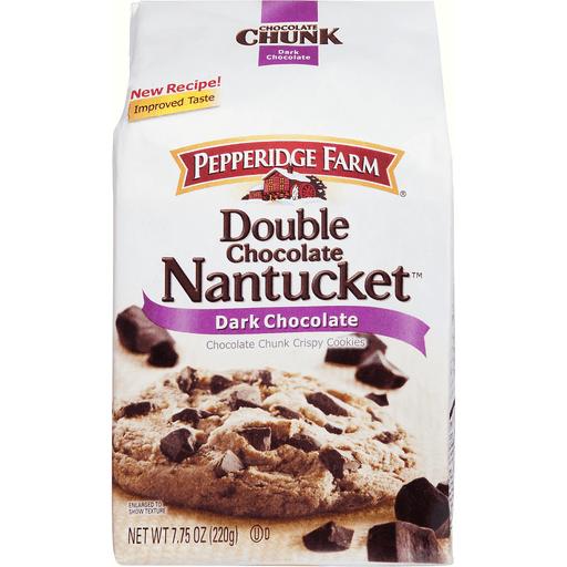 Pepperidge Farm Cookies Double Chocolate Nantucket Dark Chocolate Chocolate Chocolate Chip D Agostino