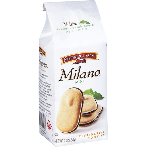 Pepperidge Farm Milano Cookies, Mint Chocolate