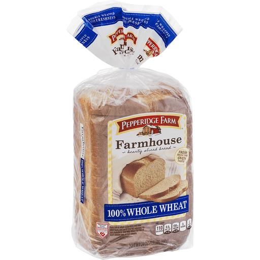 Pepperidge Farmhouse 100% Whole Wheat
