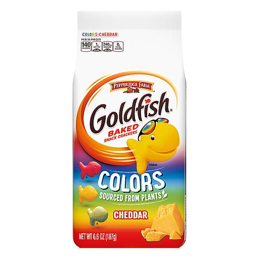 Pepperidge Farm Goldfish Colors