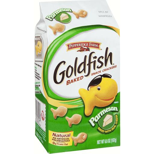 Goldfish Baked Snack Crackers, Parmesan