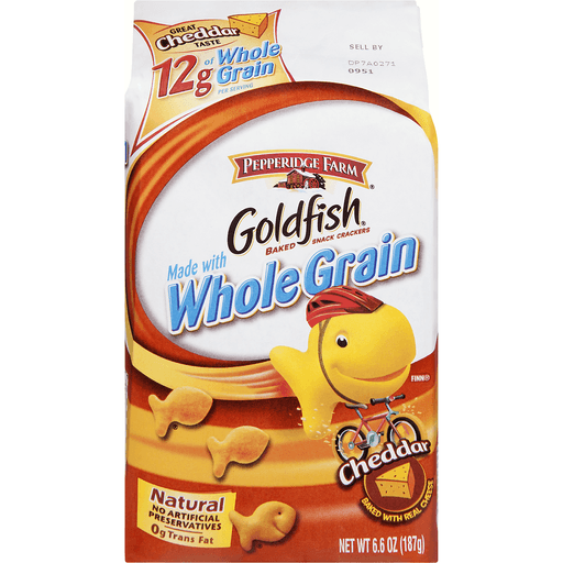 Goldfish Baked Snack Crackers, Cheddar