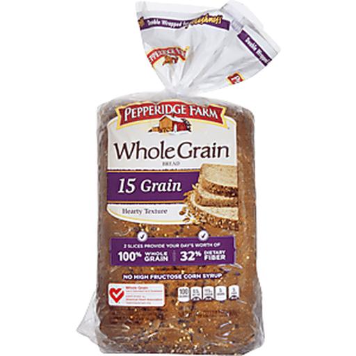 Pepperidge Farm Whole Grain Bread 15 Grain