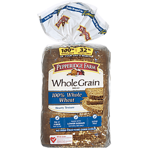 Pepperidge Farm Whole Grain Bread, 100% Whole Wheat