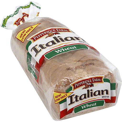 Pepperidge Farm Bread Italian Wheat Freshly Baked Artisan Bread Sun Fresh