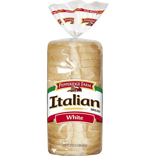 Pepperidge Farm Italian White Bread Freshly Baked Artisan Bread Superlo Foods