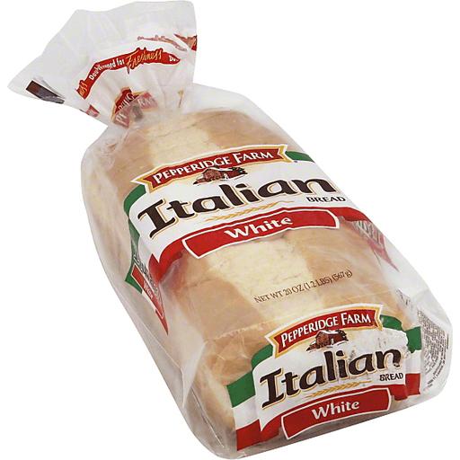 Pepperidge Farm Bread Italian White Breads From The Aisle Market Basket
