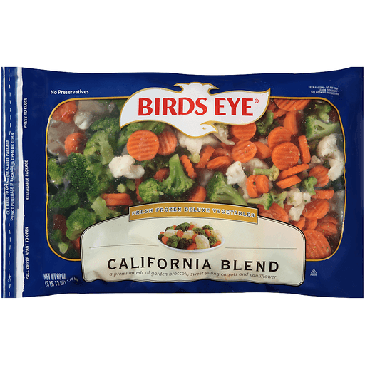 Birds Eye® California Blend Vegetables 60 oz. Bag