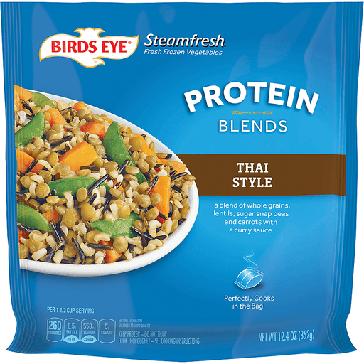 Birds Eye Steamfresh Protein Blends Vegetables, Thai Style