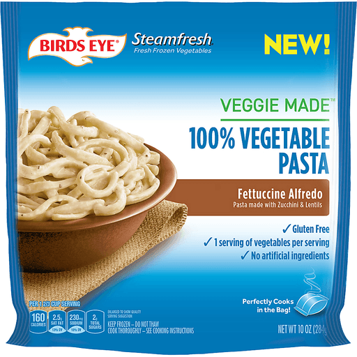 Birds Eye® Steamfresh® Veggie Made™ Fettuccine Alfredo 10 oz. Bag