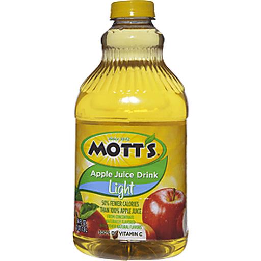 Motts Juice Drink, Light, Apple