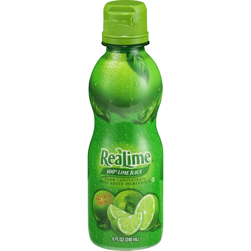 ReaLime 100% Lime Juice, Natural Strength