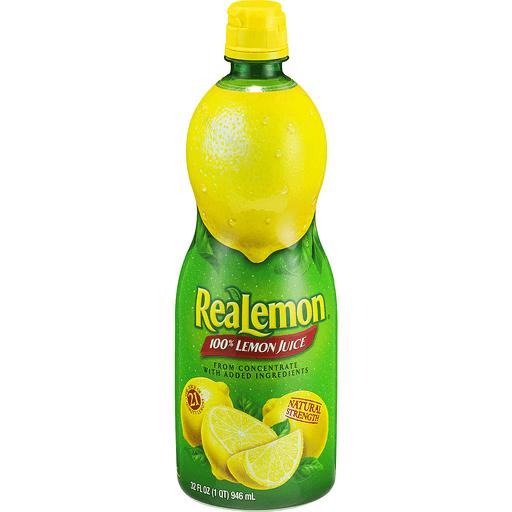 ReaLemon 100% Juice, Lemon