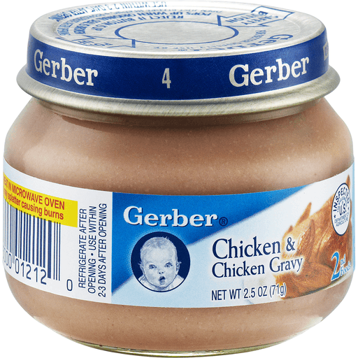00015000012120 Gerber 2nd Foods Chicken Chicken Gravy Shop