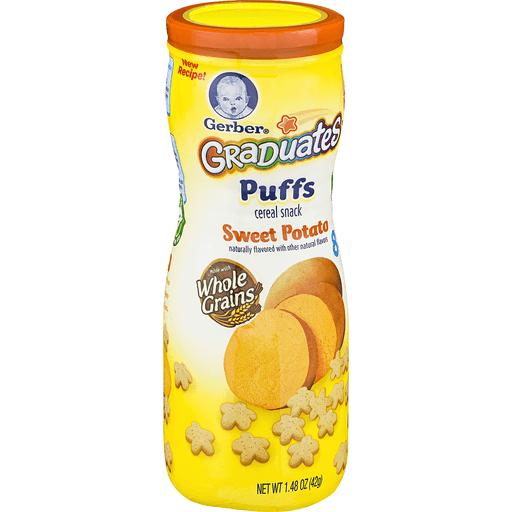 Gerber Puffs, Sweet Potato