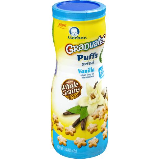 Gerber Puffs, Vanilla