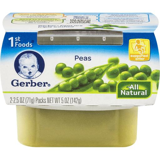 Gerber 1st Foods Nature Select Peas