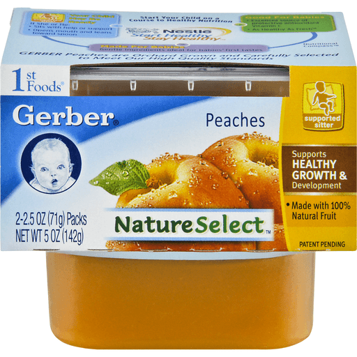 Gerber 1st Foods Peaches