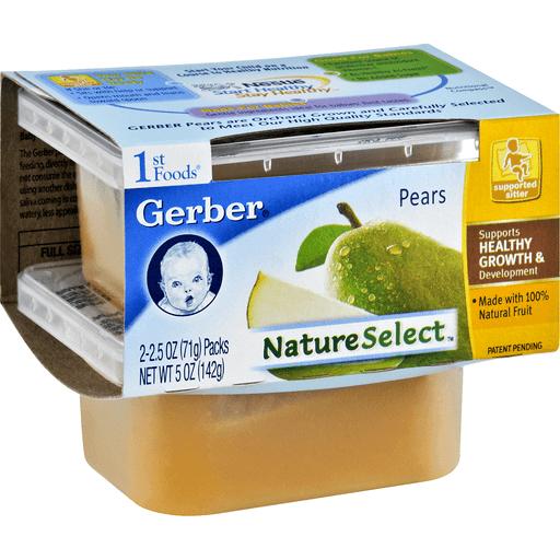 Gerber 1st Foods Pears
