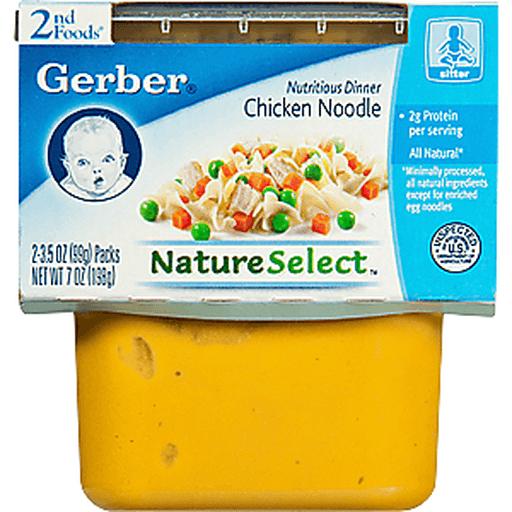 Gerber 2nd Foods Chicken Noodle