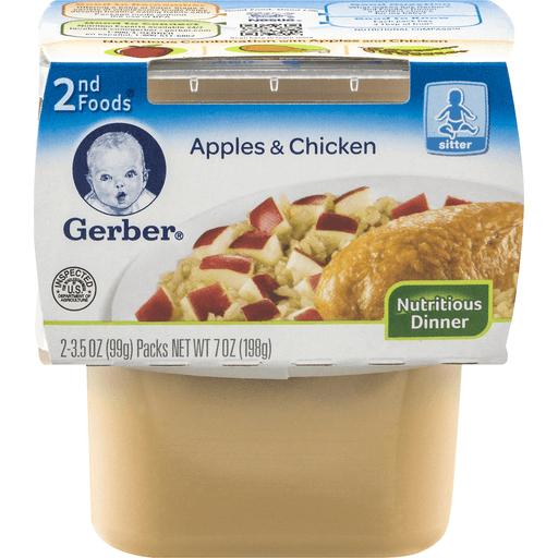 Gerber 2nd Foods Apple Chicken Dinner