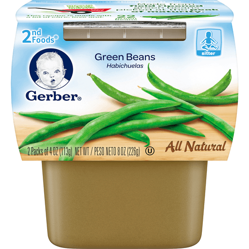 Gerber 2nd Foods Green Beans - 2 CT