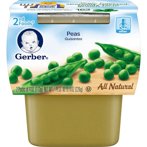 Gerber Peas 2nd Foods