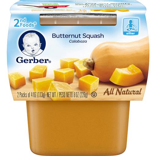 Gerber Butternut Squash 2nd Foods - 2 PK