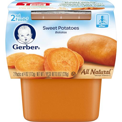 Gerber 2nd Foods Sweet Potato - 2 CT