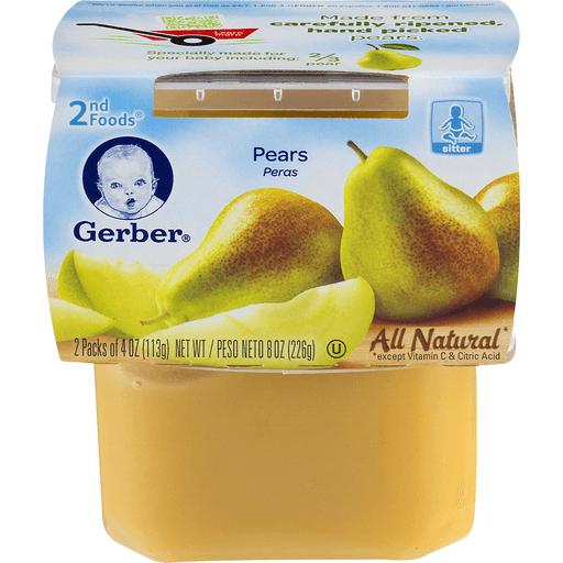 Gerber 2nd Foods Pear