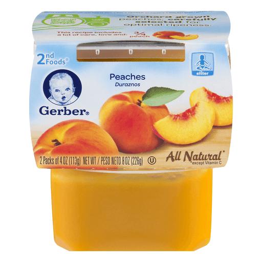 Gerber 2nd Foods Peaches
