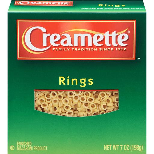Creamette® Rings 7 oz. Box