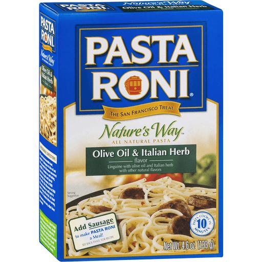 Pasta Roni Rustic Recipes Linguine, Olive Oil & Italian Herb Flavor